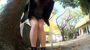 Nudist, Upskirt, Public, Video, Leggings, Legs