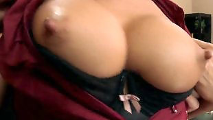 Hard nipples, Secretary, Stockings fuck, Huge nipples
