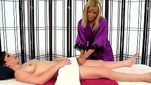 Lesbian tits, Lesbian massage, Jennifer white, Massage, Massage lesbian, White