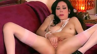 High heels, Pantyhose, Wet pussy, Stockings heels, High heels masturbation