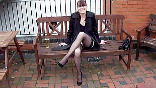 British, Legs, British mature, Mature, Mature masturbation, Show