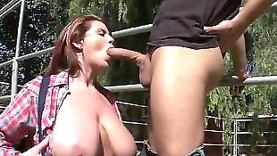Titfuck, Huge nipples