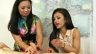 Asian, Mother, Asian teen, Big cock, Big cocks, Teach