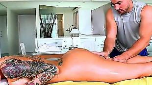 Cock massage, Christy mack, Plug, Massage orgasm