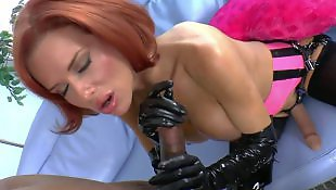 Evil angel, Latex, Melons, Milf interracial, Gloves, Nice pussy