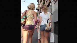 Public, Upskirt, Voyeur, Babes, Shorts, Nudist