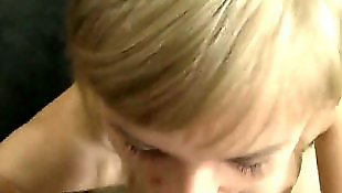 Sasha blond, Pov deepthroat, Standing, Sasha blonde