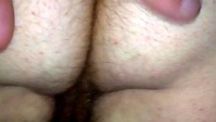 Hairy, Hairy ass, Voyeur, Hairy wife, Wife, Ass hairy
