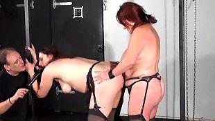 Lesbian strapon, Slave, Rough, Lesbian slave, Rough lesbian, Strapon lesbians