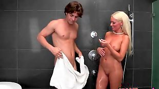 Young busty, Diana doll, Milf shower