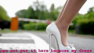 Panties, Upskirt, High heels, Heels, Panty, Teen heels