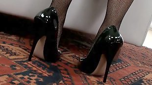 High heels solo, Stockings solo, Solo stocking, Solo stockings, Fishnet solo, Stockings high heels