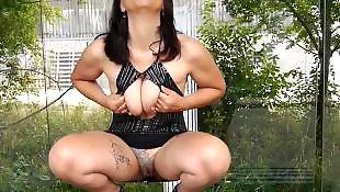 Outdoor, German, Flashing, Nudist, Public, German public