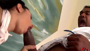 Huge cock, Barefoot, Hungarian, Boy, Pussy close up