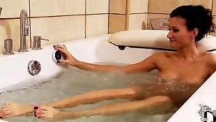 Solo shower, Flexible, Glamour solo, Shower dildo, Flexible solo, Glasses solo