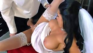 Brazzers, Story, Danny d, White stockings, Bride, Strippers