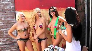 Money, Money talks, Money talk, Beach, Contest, Teen bikini