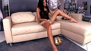Sexy feet, Anita pearl, Anita dark, Feet masturbation