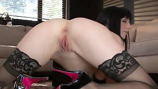 Stockings solo, High heels solo, Ass solo, Solo stocking, Solo ass tease