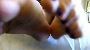 Toes, Mature, Mature pov