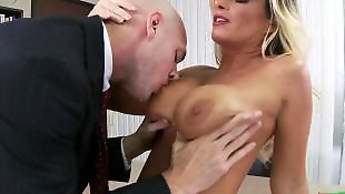 Office, Big tits, Summer, Kristal summers, Boss, At work