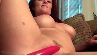 Busty masturbation, Milf dildo, Busty dildo, Cougar, Busty, Hard