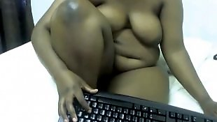 Webcam, Black booty, Huge, Chubby, Ebony bbw, Bbw