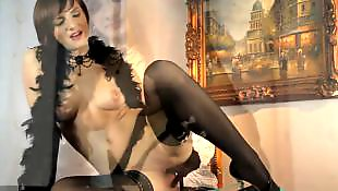 Solo stockings, Short hair, Stockings solo, Solo stocking, Young solo, Solo babe