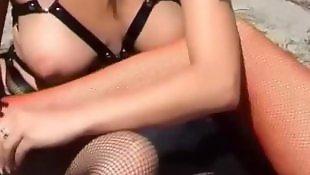 W ponczochach, Stopy stópki fetysz, Grany stockings, Grany feet, Grany