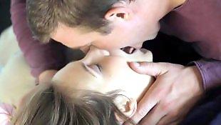 Seule gros seins, Lecher mec, Longue kissing, Charme