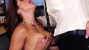 Сексапильная начальница, Зрелая жена, Жену босса
