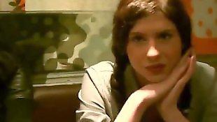 Плоскогрудые девушки, Два в одной киске, Две девушки и парень