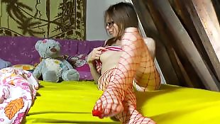 Solo girls, Pantyhose solo, Pantyhose, Striptease, Solo striptease, Fishnet solo