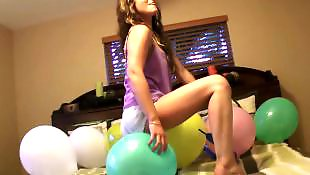 Busty teen anal, Balloon, First time anal, First anal, First, Samantha