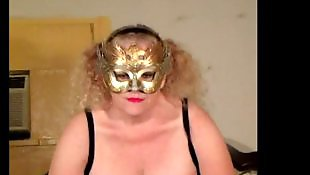 Mature amateur, Show, Mature, Mask, Showing