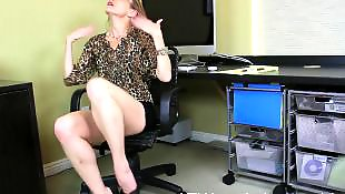 Mature masturbation, Office, Mature, Mature amateur