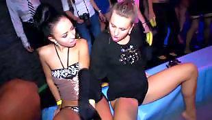 Public lesbian, Public masturbation, Group masturbation, Party, Lesbians, Lesbian party