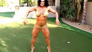 Strip, Milf, Big boobs, Milf strip, Muscle, Stripping