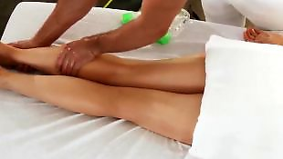 Hard nipples, Cock massage