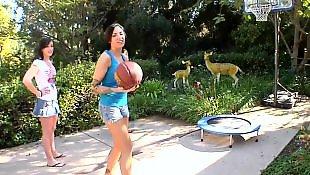 Threesome lesbian, Outdoor, Juelz ventura, Lesbian threesome, Jennifer white, Lesbian outdoor