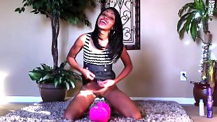Black teen, Ebony teen, Ebony dildo, Ebony masturbation, New