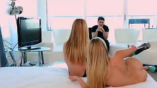 Threesome teen, Babes, Threesomes, Threesome, Blonde teen
