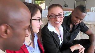Interracial, Interracial anal, Mischa brooks, Group, Group anal, Anal interracial