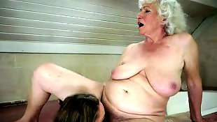 Granny lesbian, Hairy pussy, Granny, Old and young, Granny norma, Hairy lesbians