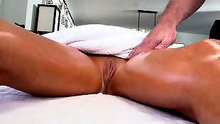Massage, Pussy massage, Tasha reign, Wet pussy, Massage anal, Oily
