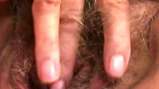 Granny masturbating, Granny, Mature solo, Hairy solo, Granny solo, Hairy mature solo