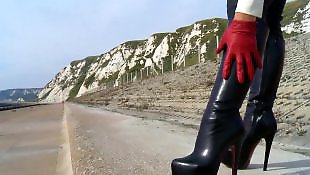 Leggings, Legs, Boots, Dominatrix, Annabelle, Stiletto