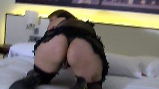 Grannys masturbate, Big pussy masturb