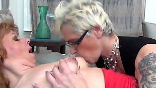 Granny lesbian, Granny, Mature lesbian, Old and young, Milf lesbian, Mature