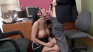 Mature blowjob, Office, Priya rai, Priya, Huge dick